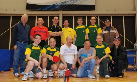 WYKAAO Table Tennis Team Internal Tournament in Dec 2015